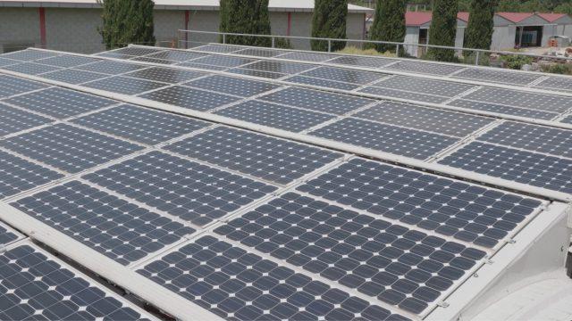 pannelli fotovoltaici frantoio